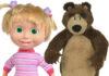 Masza i Niedźwiedź zabawki